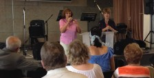 Peggy Preaching