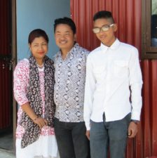 Pastor David and Family with New House